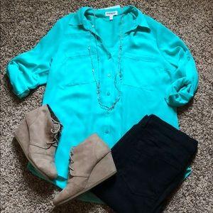 Teal Portofino Shirt